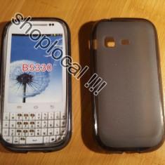 Husa Telefon Samsung, Maro, Silicon, Husa - HUSA SAMSUNG GALAXY CHAT B5330 silicon eleganta +folie ** LIVRARE GRATUITA !!!