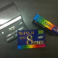 Set 3 Casete Video sigilate - FUJI Video8: Super HG P5-90 fujifilm