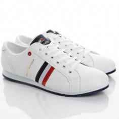 Adidasi barbati - Pantofi Casual model Tommy Hilfiger-alb