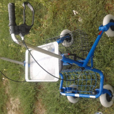 Carucior invalizi - Scaun cu rotile