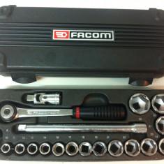 Cheie mecanica - FACOM,, Trusa tubulare cu cliquet '' FACOM