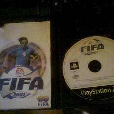 Joc ORIGINAL - fifa 2001-PS2 - Jocuri PS2 Sony, Sporturi, Toate varstele, Multiplayer