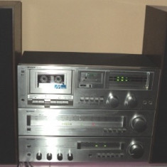 Combina audio Sharp, Separate, 41-80 W - Linie audio model Sharp deck RT30, tuner ST30, amplificator SM30 plus boxe CP30HW