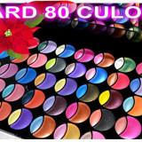 Trusa profesionala fard 80 culori sidefate Trusa make up Cosmetica Cadou sarbatori Pensule make up  CEL MAI MIC PRET