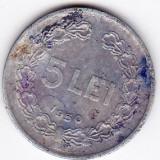 5 lei 1950 - Moneda Romania