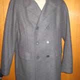 Palton barbati Zara, XL, Lana, Gri - PALTON ZARA BARBATI