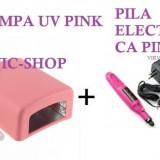 Lampa Uv 36 Watt plus Freza electrica 3000-13000 rpm