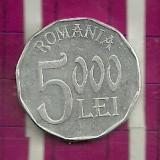 5000 lei 2002 - Moneda Romania