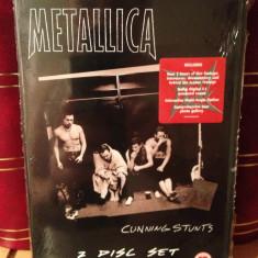 METALLICA - CUNNING STUNTS/LIVE IN TEXAS (2005/UNIVERSAL) -2 DVD SET NOU/SIGILAT - Muzica Rock universal records