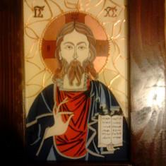 Obiecte Cult - Icoana pe sticla - Iisus