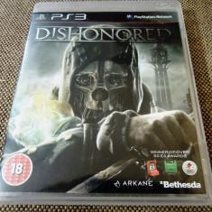 Joc Dishonored, original, PS3, alte sute de jocuri! - Jocuri PS3 Bethesda Softworks, Actiune, 16+, Single player