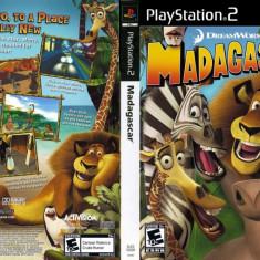 Joc original Madagascar pentru consola PlayStation2 PS2 - Jocuri PS2 Activision, Actiune, Toate varstele, Multiplayer