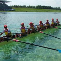 Skiff 8+1 lemn, 3 bucati - Caiac Canoe