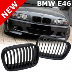 Grile negre BMW seria 3 E46 1998 2001 - M3 look - Grila, 3 (E46) - [1998 - 2005]
