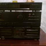 Amplificator cu tuner si cassette 2x100 w