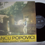 Disc vinil ( vinyl, pick-up ) IANCU POPOVICI - Muzica Populara electrecord sarbeasca