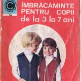 Carte hobby - IMBRACAMINTE PENTRU COPII DE LA 3 LA 7 ANI de GEORGETA STOEAN