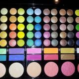 Trusa Make-up 78 Culori, Blush, Farduri Profesionale OFERTA 50 % REDUCERE
