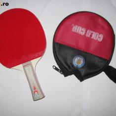 PALETA TENIS MASA GOLD CUP CU HUSA, FT BINE LUCRATA - Paleta ping pong Nespecificat