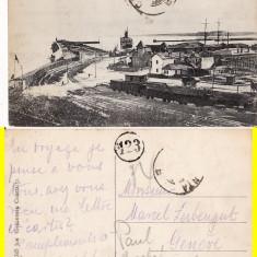 Constanta- Portul -rara - Carte Postala Dobrogea pana la 1904, Circulata, Printata