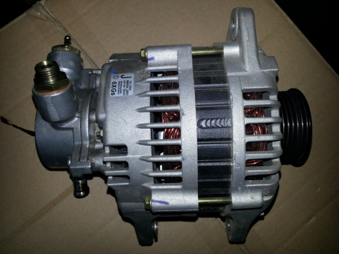 Alternator OPEL Astra G, Corsa C Y17DT - Y17DTL - Z17DTL foto mare
