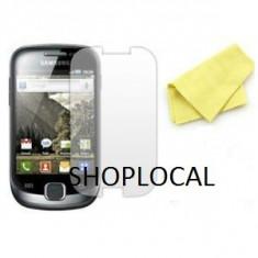3X FOLIE Samsung Galaxy Fit S5670 (SET DE 3 BUC) - CEL MAI MIC PRET - LIVRARE GRATUITA IN TARA!!! - Folie de protectie