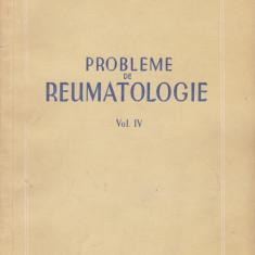 D. DANIELOPOLU - PROBLEME DE REUMATOLOGIE VOL 4 - Carte Boli infectioase