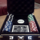 Set Poker PLAY HARD 100 chips-uri