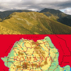 Harta Turistica - Harta Muntii Parang Bel Alpin