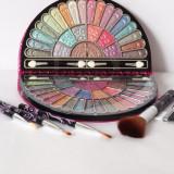 CADOU 5 PENSULE pentru: Trusa cu 50 CULORI farduri ploape, trusa fard machiaj makeup TR18-8 - Trusa make up