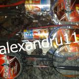 Rachete badminton 2 buc cu 2 fluturasi din pene geanta transport pret set 15 lei