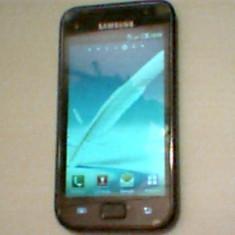 Vand/Schimb samsung galxy s impecabil - Telefon mobil Samsung Galaxy S, Negru, 8GB, Neblocat