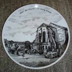 Farfurie antica / decorativa - portelan Bavaria - Winterling - 1950, Farfurii