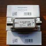 Amplificator semnal satelit pe fir