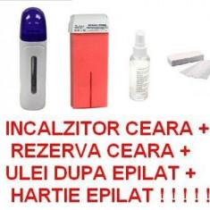 KIT EPILARE - APARAT EPILAT - KIT / SET - INCALZITOR CEARA - Ceara epilare