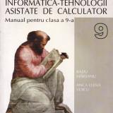 Manual Clasa a IX-a - TEHNOLOGIA INFORMATIEI - MANUAL PT CLS A IX A de RADU MARSANU ED. ALL