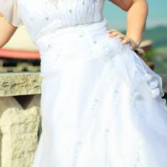 Rochie de mireasa Sadriny Style - Rochie de mireasa printesa