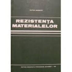 Carti Mecanica - Conf dr ing V.Drobota-Rezistenta materialelor (rezistenta-materiale-curs la facultate Tehnologie constructii masini-Politehnica Bucuresti) -(C1018)