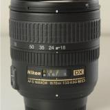 Obiectiv DSLR - Nikon 18-70mm f/3.5-4.5G ED IF AF-S DX Nikkor Zoom Lens