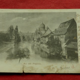 carte postala - Gruss aus Nurnberg 1900 !!!
