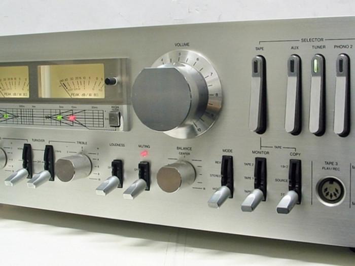 Amplificator - statie - solid state AIWA AA 8700E foto mare