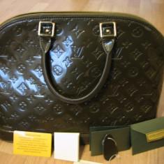 Geanta Louis Vuitton - Geanta Dama Louis Vuitton, Geanta umar manere scurte, Olive, Piele, Medie