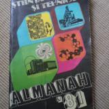 Almanah stiinta si tehnica 1981