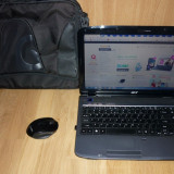 Laptop Acer Aspire 5738 ZG + Cadou mouse wireless si geanta, Intel Pentium Dual Core, 15-15.9 inch, 2001-2500 Mhz, 320 GB