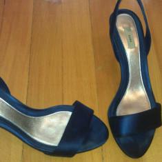 Sandale Zara - Sandale dama Zara, 38, Albastru