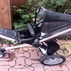 Carucior quinny buzz - Carucior copii Sport Quinny, 6-12 luni, Pliabil, Negru, Maner reversibil