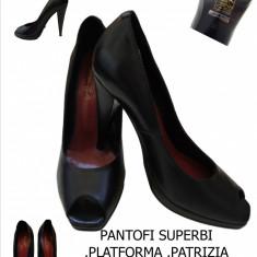 Pantofi dama - PANTOFI PIELE, PLATFORMA, MADE IN ITALIA-PATRIZIA RIGOTTI, LIVRAREA Gratuita