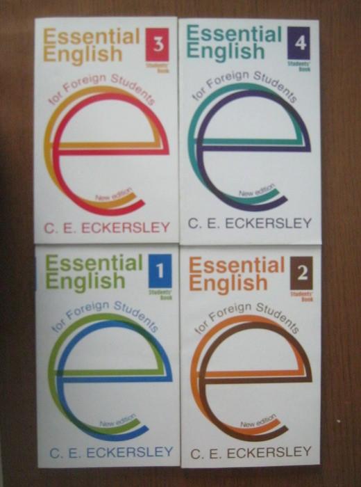 Учебники с е eckersley essential english for foreign students.