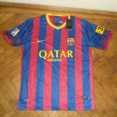 Tricou echipa fotbal, S, De club, Barcelona, Maneca scurta - Tricou Nike FC Barcelona NOU 2013 - 2014 Spania