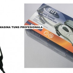 Aparat de Tuns - MASINA DE TUNS / FREZAT PROFESIONALA+8 ACCESORII, BBT PROFESSIONAL CLIPPER.